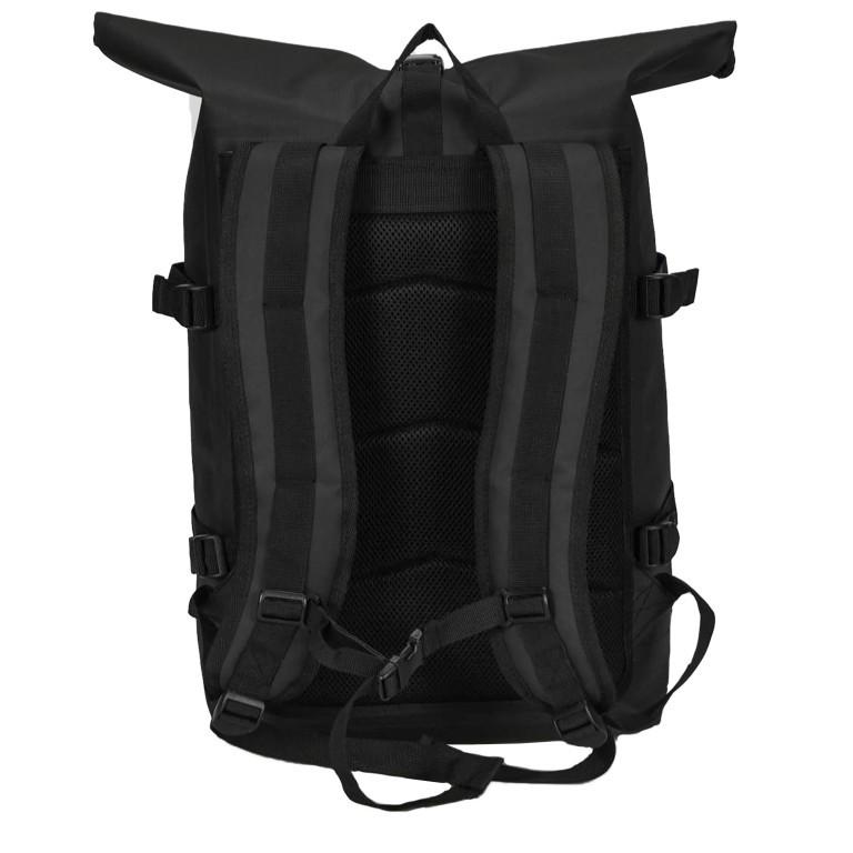 Got Bag Rolltop Backpack 01AV619., Farbe: schwarz, blau/petrol, grün/oliv, beige, Marke: Got Bag, Bild 4 von 11