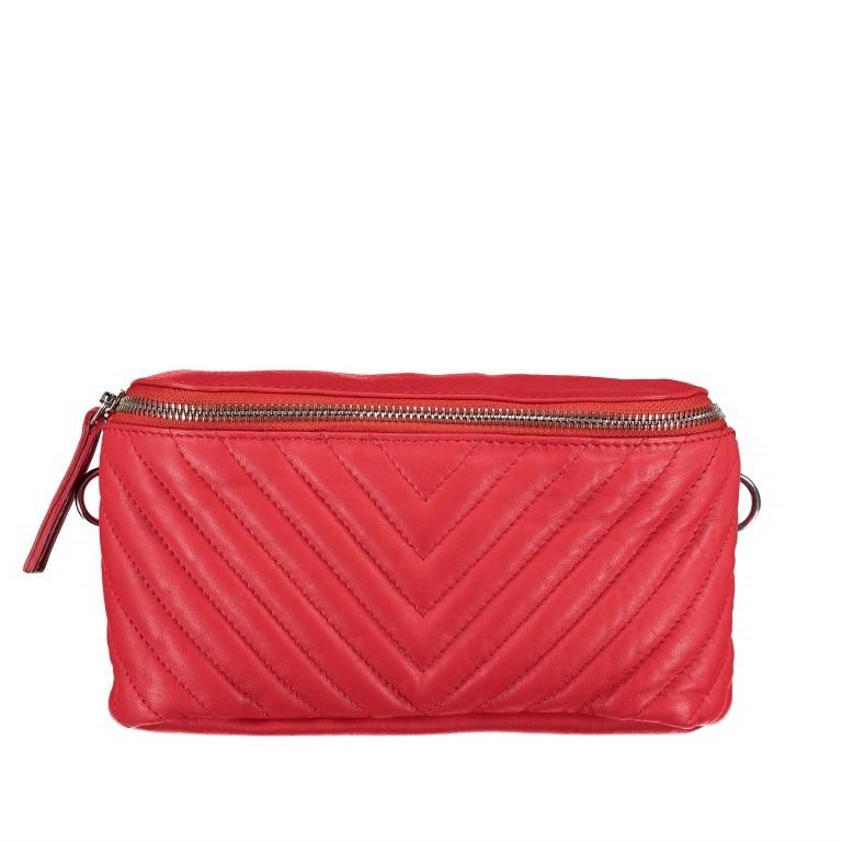 Gürteltasche Rot, Farbe: rot/weinrot, Marke: Hausfelder, EAN: 4251672707926, Abmessungen in cm: 20.0x12.0x5.0, Bild 1 von 8