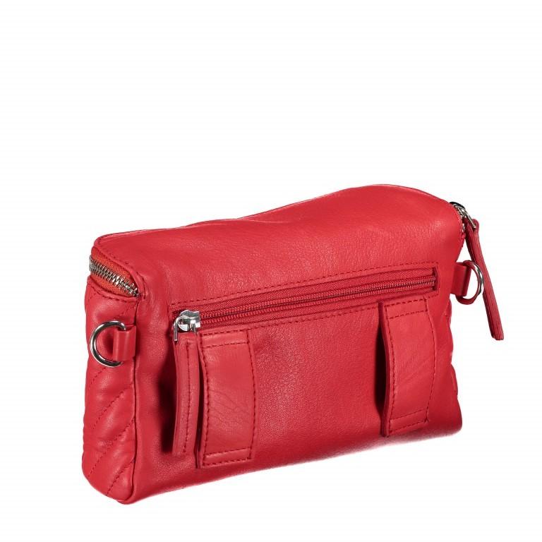 Gürteltasche Rot, Farbe: rot/weinrot, Marke: Hausfelder, EAN: 4251672707926, Abmessungen in cm: 20.0x12.0x5.0, Bild 3 von 8