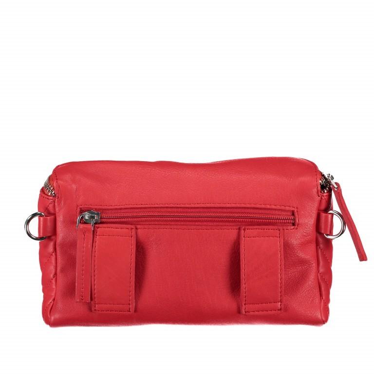 Gürteltasche Rot, Farbe: rot/weinrot, Marke: Hausfelder, EAN: 4251672707926, Abmessungen in cm: 20.0x12.0x5.0, Bild 4 von 8