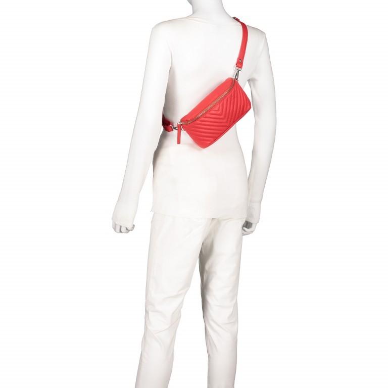 Gürteltasche Rot, Farbe: rot/weinrot, Marke: Hausfelder, EAN: 4251672707926, Abmessungen in cm: 20.0x12.0x5.0, Bild 7 von 8