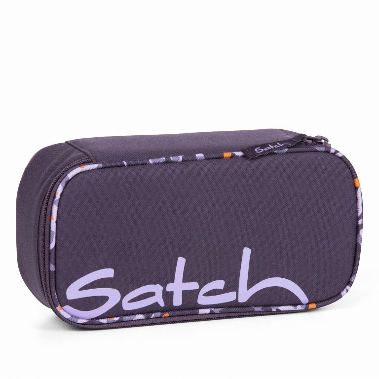 Schlamperbox Mysterious Rush, Farbe: flieder/lila, Marke: Satch, EAN: 4057081041268, Abmessungen in cm: 22.0x6.0x10.0, Bild 1 von 3