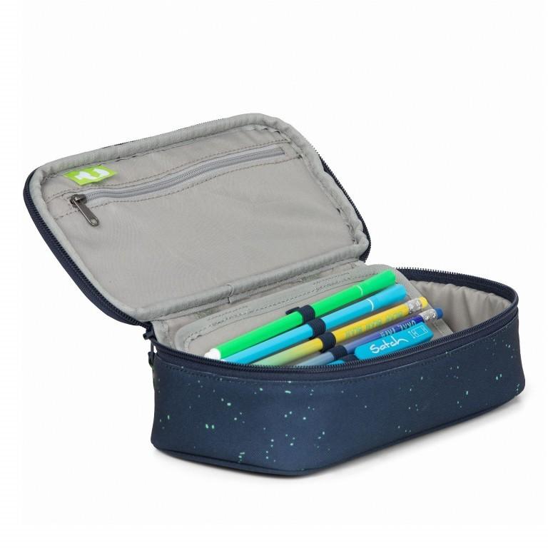Schlamperbox Mysterious Rush, Farbe: flieder/lila, Marke: Satch, EAN: 4057081041268, Abmessungen in cm: 22.0x6.0x10.0, Bild 2 von 3