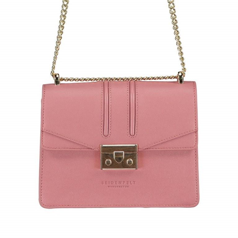 Umhängetasche Roros Blush Gold, Farbe: rosa/pink, Marke: Seidenfelt, EAN: 4251634219306, Abmessungen in cm: 21.0x16.5x6.5, Bild 1 von 5