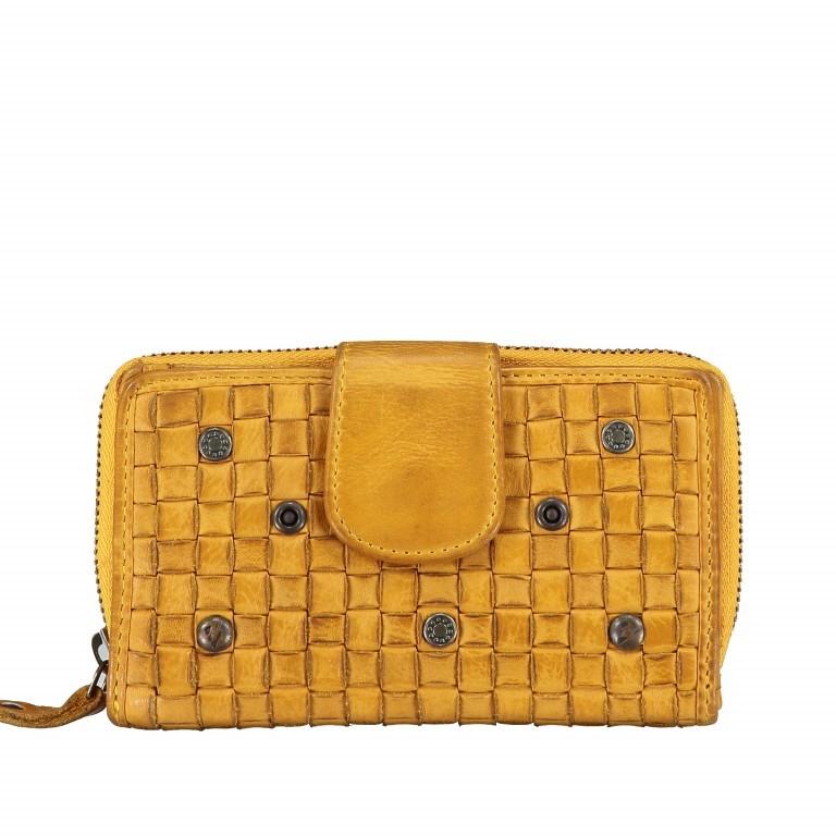 Geldbörse Soft-Weaving Lucinda B3.0647 Oriental Mustard, Farbe: gelb, Marke: Harbour 2nd, EAN: 4046478039186, Abmessungen in cm: 16.0x10.0x3.0, Bild 1 von 5
