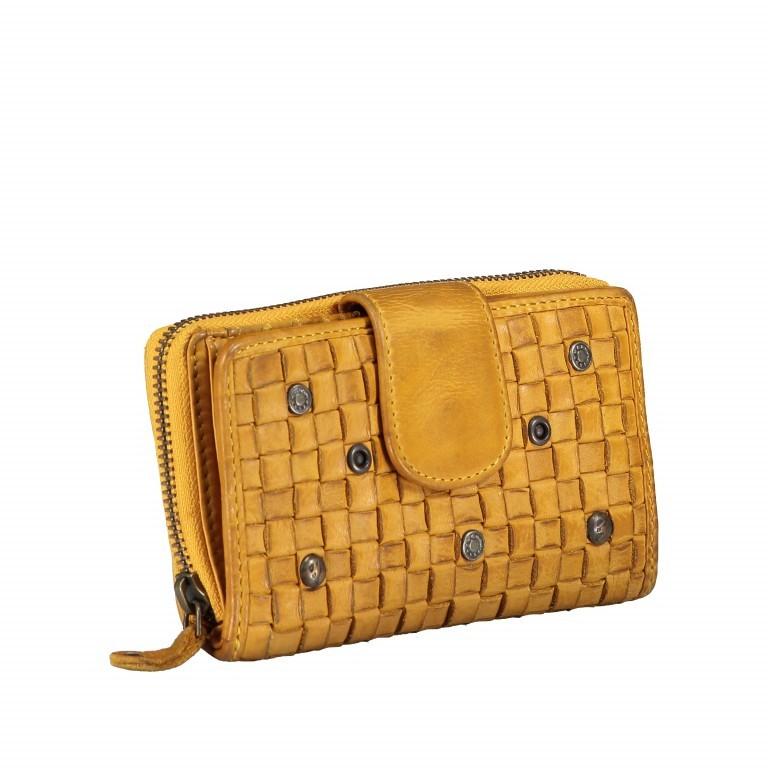 Geldbörse Soft-Weaving Lucinda B3.0647 Oriental Mustard, Farbe: gelb, Marke: Harbour 2nd, EAN: 4046478039186, Abmessungen in cm: 16.0x10.0x3.0, Bild 2 von 5