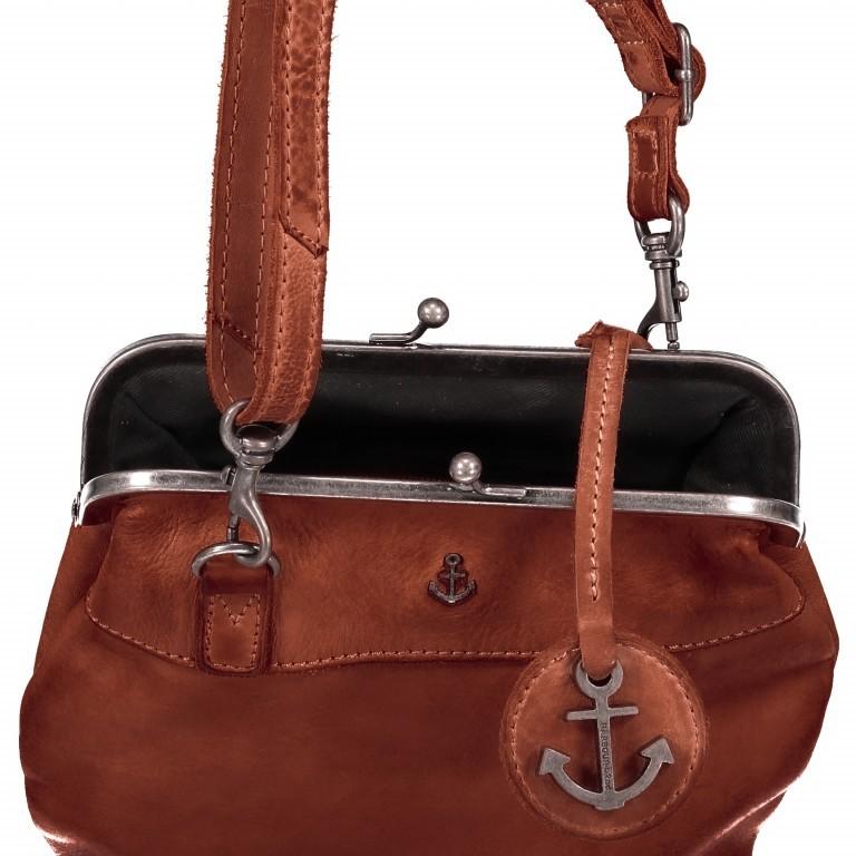 Tasche Anchor-Love Rosalie B3.7840 Charming Cognac, Farbe: cognac, Marke: Harbour 2nd, EAN: 4046478037786, Abmessungen in cm: 22.0x20.0x3.0, Bild 7 von 7
