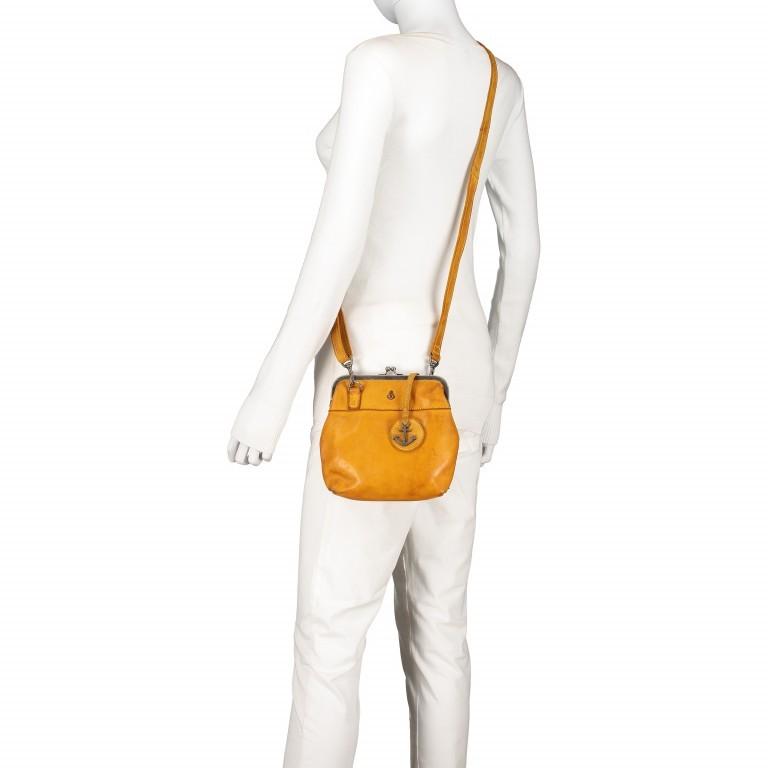 Tasche Anchor-Love Rosalie B3.7840 Oriental Mustard, Farbe: gelb, Marke: Harbour 2nd, EAN: 4046478037809, Abmessungen in cm: 22.0x20.0x3.0, Bild 4 von 7