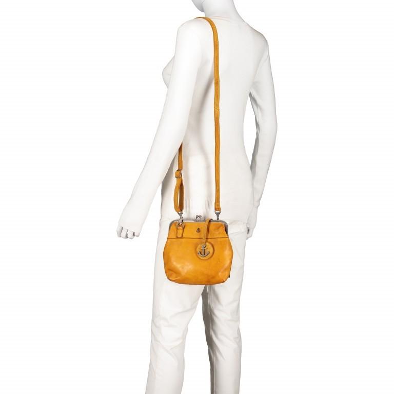 Tasche Anchor-Love Rosalie B3.7840 Oriental Mustard, Farbe: gelb, Marke: Harbour 2nd, EAN: 4046478037809, Abmessungen in cm: 22.0x20.0x3.0, Bild 5 von 7