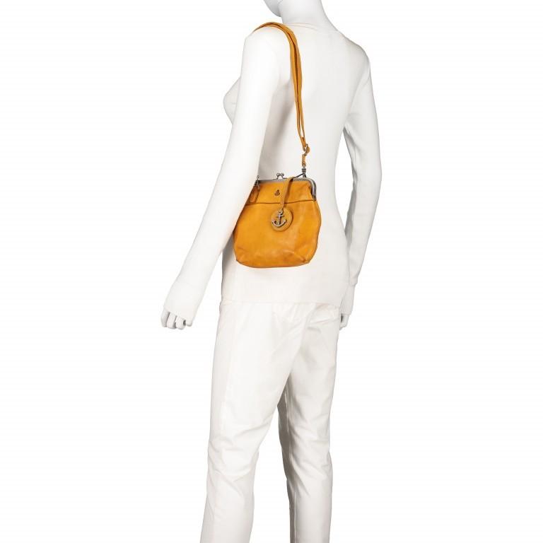 Tasche Anchor-Love Rosalie B3.7840 Oriental Mustard, Farbe: gelb, Marke: Harbour 2nd, EAN: 4046478037809, Abmessungen in cm: 22.0x20.0x3.0, Bild 6 von 7