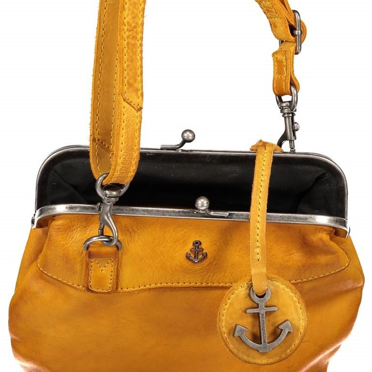 Tasche Anchor-Love Rosalie B3.7840 Oriental Mustard, Farbe: gelb, Marke: Harbour 2nd, EAN: 4046478037809, Abmessungen in cm: 22.0x20.0x3.0, Bild 7 von 7