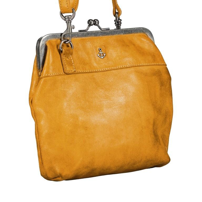 Tasche Anchor-Love Rosalie B3.7840 Oriental Mustard, Farbe: gelb, Marke: Harbour 2nd, EAN: 4046478037809, Abmessungen in cm: 22.0x20.0x3.0, Bild 2 von 7