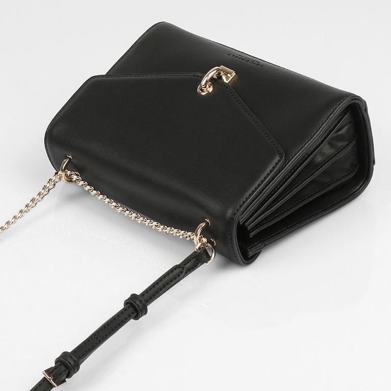 Umhängetasche Kisa Black Gold, Farbe: schwarz, Marke: Seidenfelt, EAN: 4251634256271, Abmessungen in cm: 20.5x15.5x9.0, Bild 10 von 10