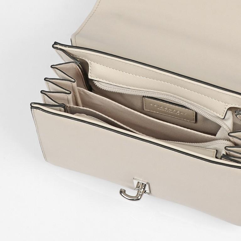 Umhängetasche Kisa Beige Silver, Farbe: beige, Marke: Seidenfelt, EAN: 4251634256288, Abmessungen in cm: 20.5x15.5x9.0, Bild 8 von 12