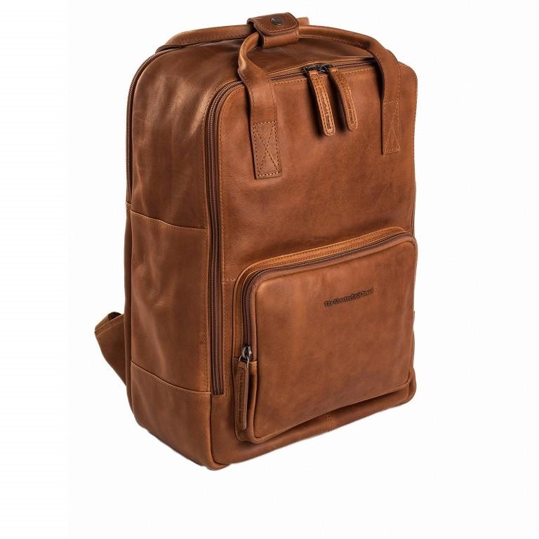 Rucksack Belford Laptopfach 15,4 Zoll Cognac, Farbe: cognac, Marke: The Chesterfield Brand, EAN: 8719241039114, Abmessungen in cm: 26.0x40.0x16.0, Bild 1 von 5