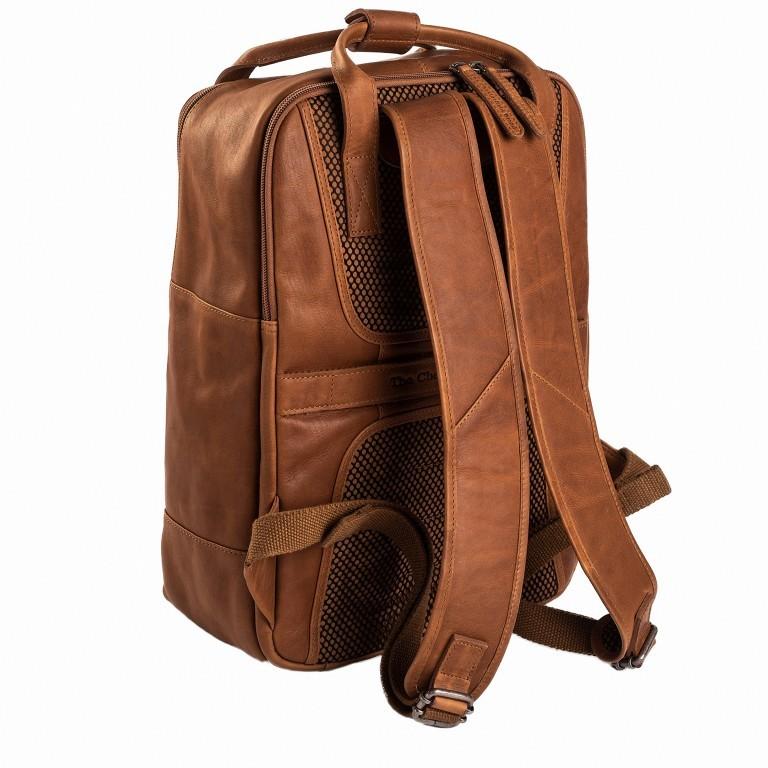 Rucksack Belford Laptopfach 15,4 Zoll Cognac, Farbe: cognac, Marke: The Chesterfield Brand, EAN: 8719241039114, Abmessungen in cm: 26.0x40.0x16.0, Bild 2 von 5