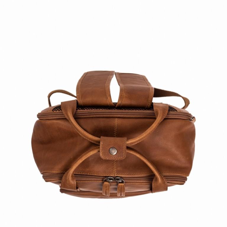 Rucksack Belford Laptopfach 15,4 Zoll Cognac, Farbe: cognac, Marke: The Chesterfield Brand, EAN: 8719241039114, Abmessungen in cm: 26.0x40.0x16.0, Bild 4 von 5
