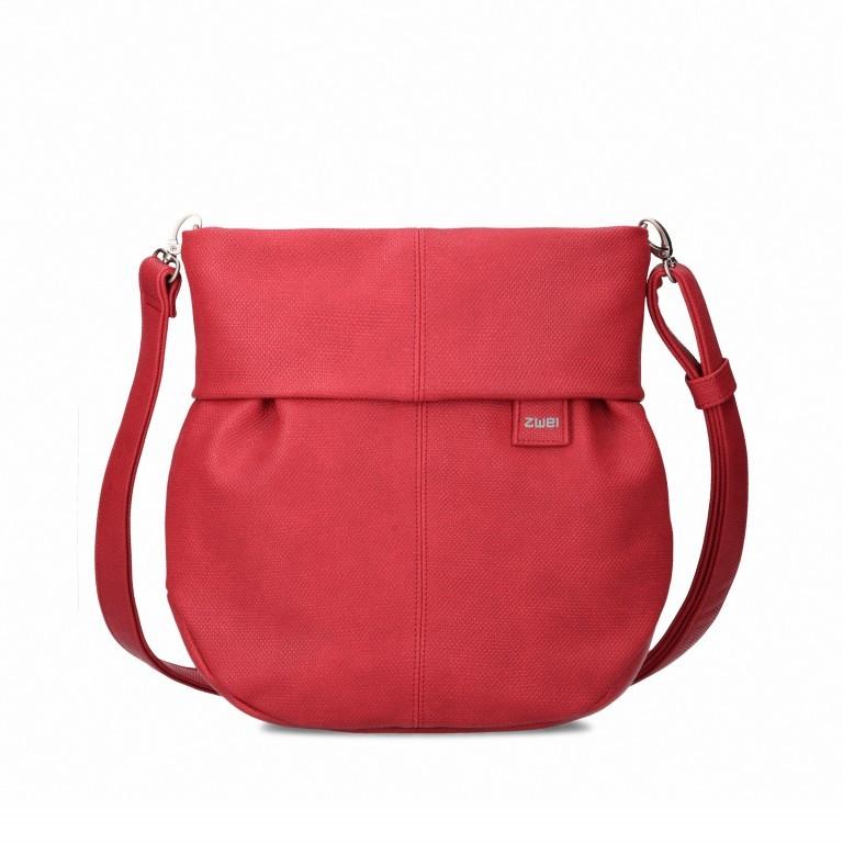 Umhängetasche Mademoiselle M100 Canvas Red, Farbe: rot/weinrot, Marke: Zwei, EAN: 4250257919891, Abmessungen in cm: 27.0x30.0x9.0, Bild 1 von 8