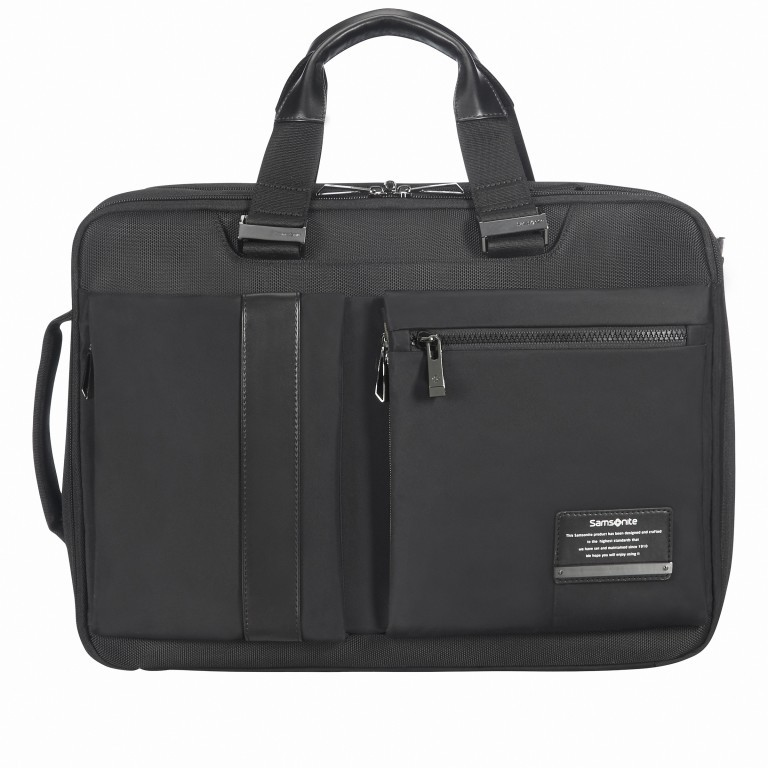 Laptoptasche Openroad 3 Way Boarding Bag 15.6 Zoll erweiterbar Black, Farbe: schwarz, Marke: Samsonite, EAN: 5414847867019, Bild 1 von 11