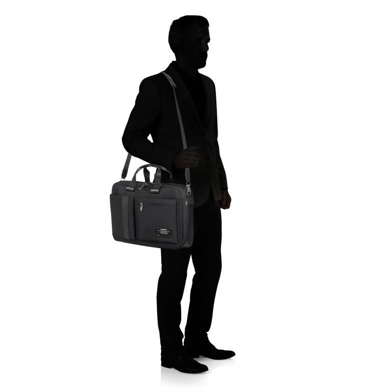 Laptoptasche Openroad 3 Way Boarding Bag 15.6 Zoll erweiterbar Black, Farbe: schwarz, Marke: Samsonite, EAN: 5414847867019, Bild 8 von 11