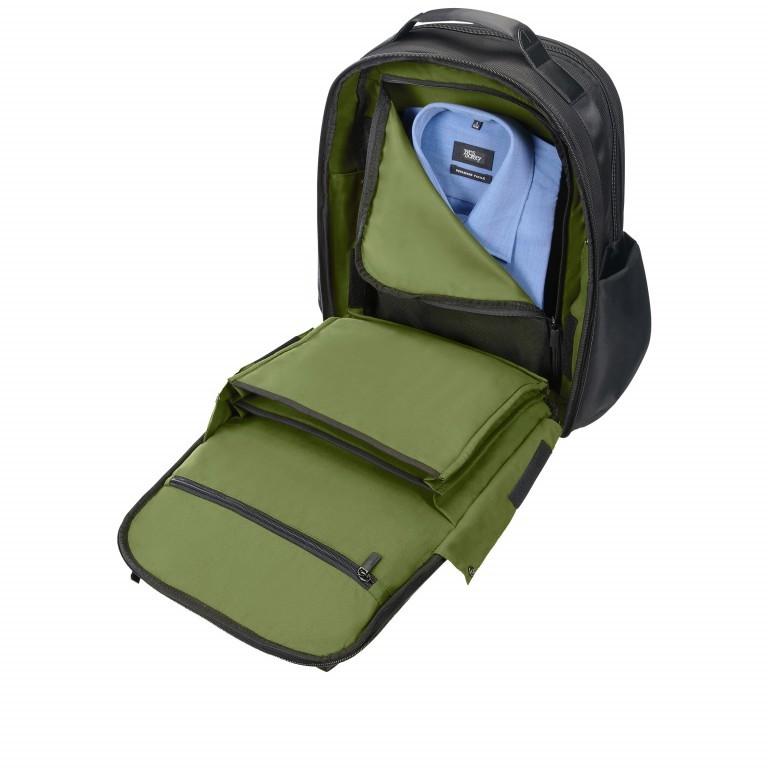 Rucksack Openroad Weekender Backpack 17.3 Zoll mit Smart Sleeve Black, Farbe: schwarz, Marke: Samsonite, EAN: 5414847712418, Abmessungen in cm: 39.0x48.0x26.0, Bild 8 von 17