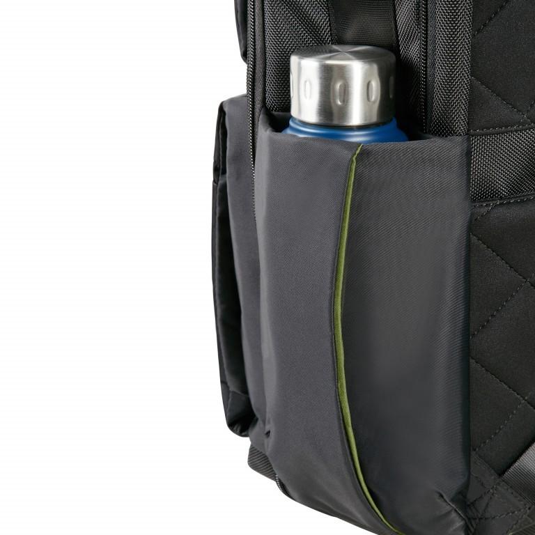 Rucksack Openroad Weekender Backpack 17.3 Zoll mit Smart Sleeve Black, Farbe: schwarz, Marke: Samsonite, EAN: 5414847712418, Abmessungen in cm: 39.0x48.0x26.0, Bild 11 von 17