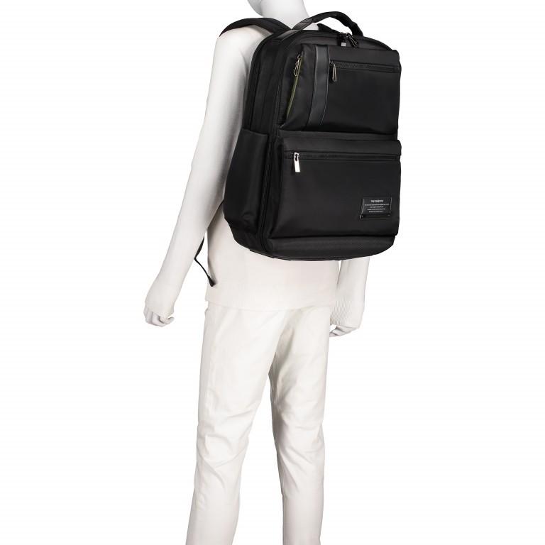 Rucksack Openroad Weekender Backpack 17.3 Zoll mit Smart Sleeve Black, Farbe: schwarz, Marke: Samsonite, EAN: 5414847712418, Abmessungen in cm: 39.0x48.0x26.0, Bild 6 von 17