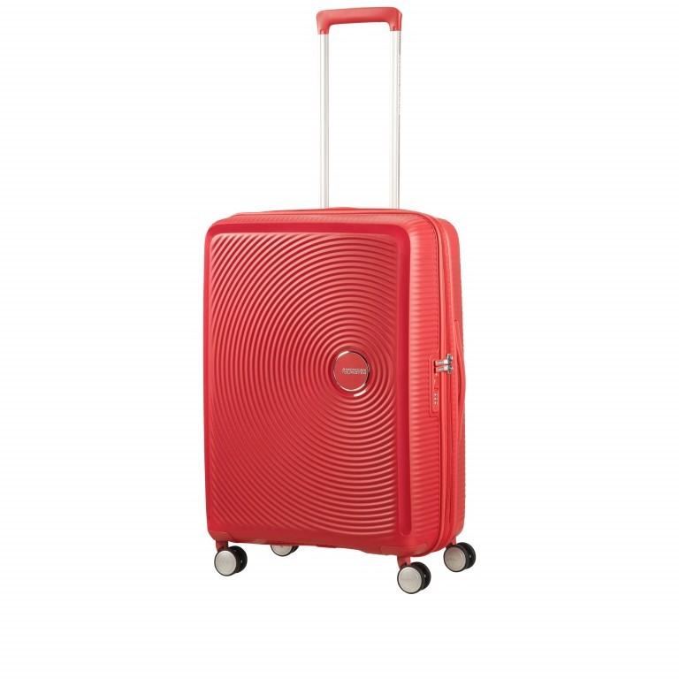 Trolley Soundbox 4-Rollen 67 cm Coral Red, Farbe: rot/weinrot, Marke: American Tourister, EAN: 5414847961410, Abmessungen in cm: 46.5x67.0x29.0, Bild 2 von 8