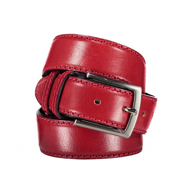 Gürtel Toscana One Size Rot, Farbe: rot/weinrot, Marke: Hausfelder, EAN: 4065646000889, Bild 1 von 3