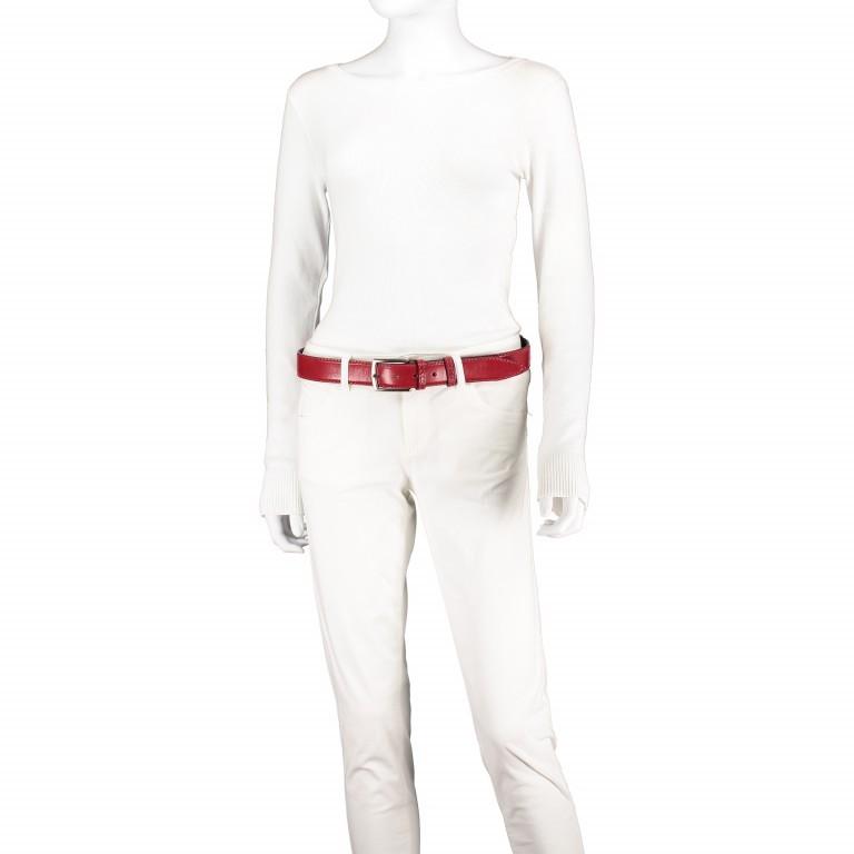 Gürtel Toscana One Size Rot, Farbe: rot/weinrot, Marke: Hausfelder, EAN: 4065646000889, Bild 2 von 3