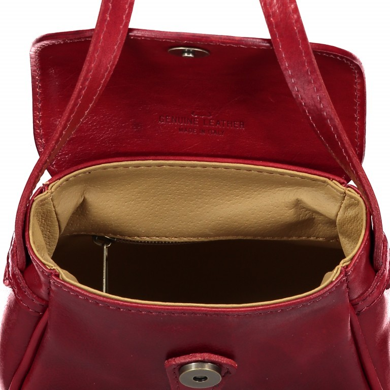 Umhängetasche Toscana Größe XS Cognac, Farbe: cognac, Marke: Hausfelder, EAN: 4065646000117, Bild 6 von 6
