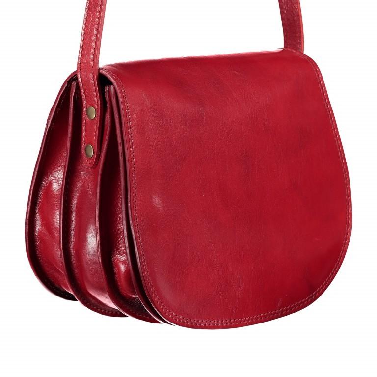 Satteltasche Toscana Größe L Rot, Farbe: rot/weinrot, Marke: Hausfelder, EAN: 4065646000223, Abmessungen in cm: 27.0x23.0x13.0, Bild 2 von 6