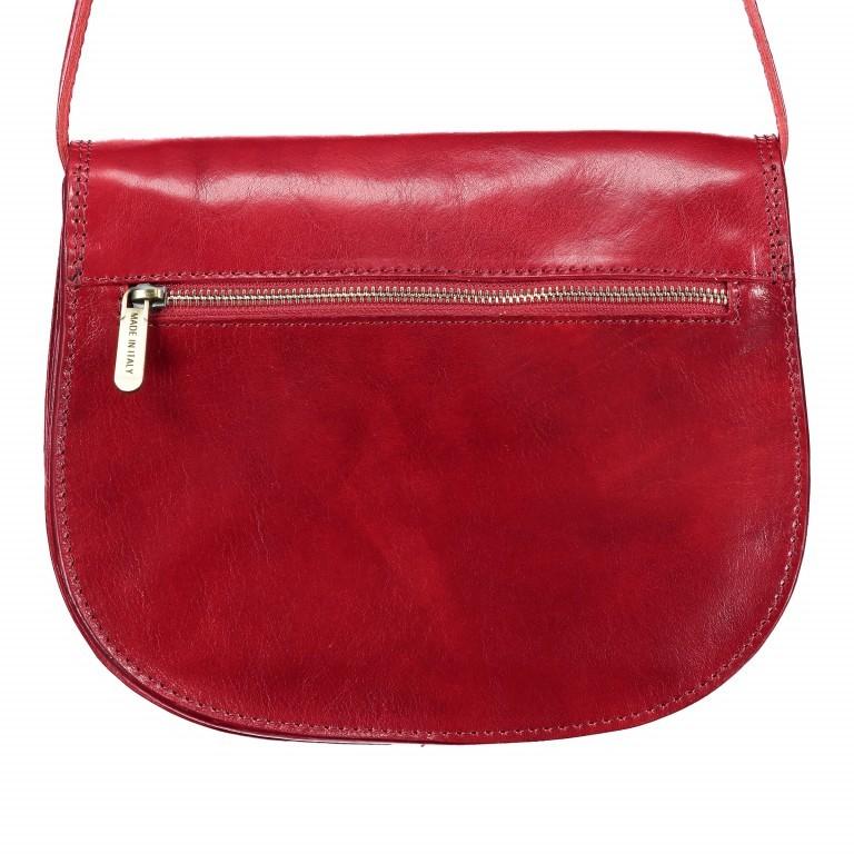 Satteltasche Toscana Größe L Rot, Farbe: rot/weinrot, Marke: Hausfelder, EAN: 4065646000223, Abmessungen in cm: 27.0x23.0x13.0, Bild 3 von 6
