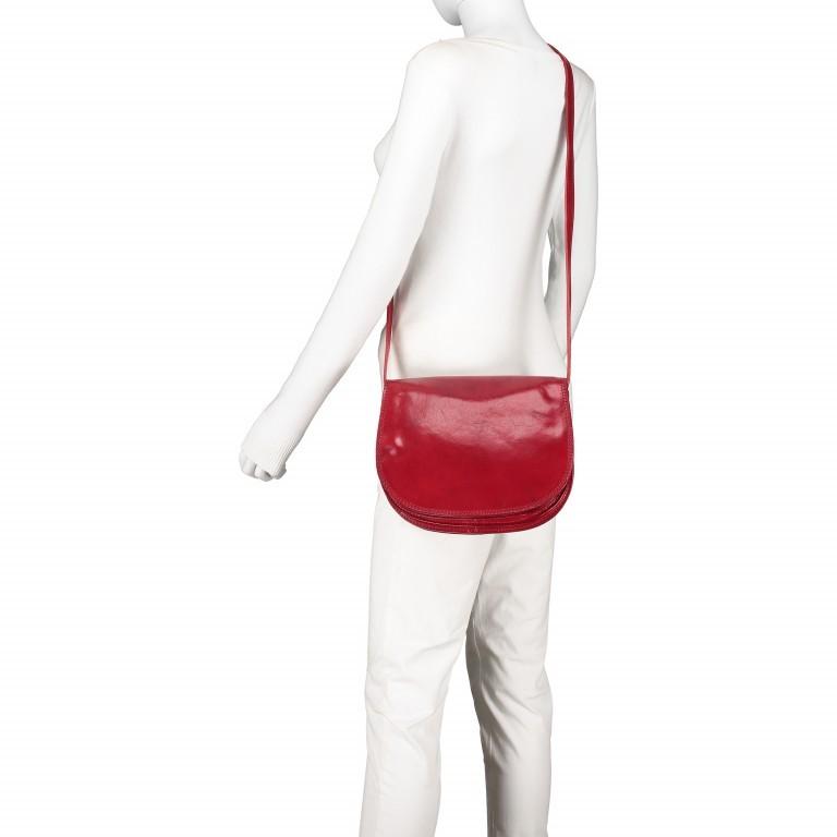 Satteltasche Toscana Größe L Rot, Farbe: rot/weinrot, Marke: Hausfelder, EAN: 4065646000223, Abmessungen in cm: 27.0x23.0x13.0, Bild 5 von 6