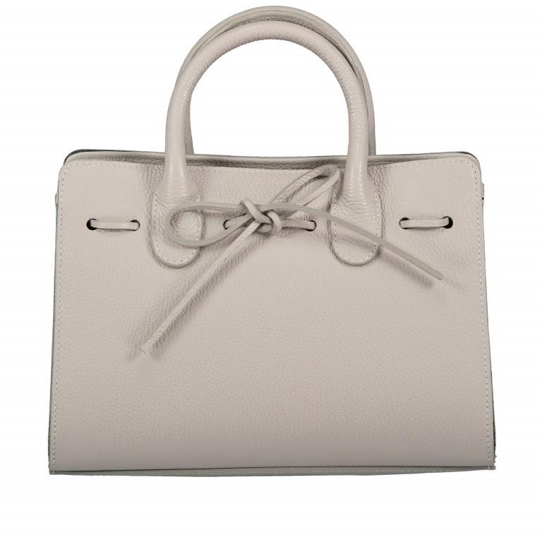 Handtasche Dollaro Hellgrau, Farbe: grau, Marke: Hausfelder, EAN: 4065646003484, Abmessungen in cm: 28.5x21.0x12.0, Bild 1 von 8