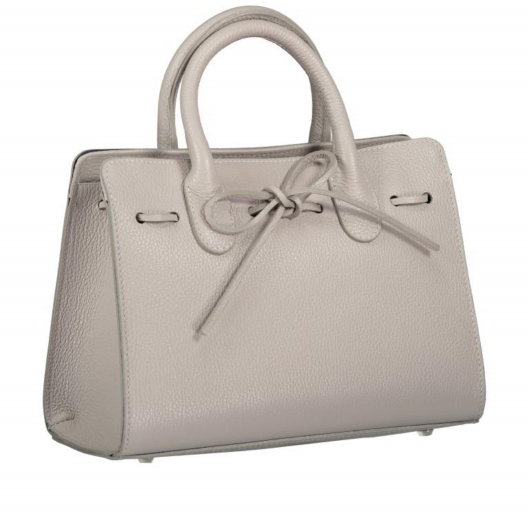 Handtasche Dollaro Hellgrau, Farbe: grau, Marke: Hausfelder, EAN: 4065646003484, Abmessungen in cm: 28.5x21.0x12.0, Bild 2 von 8