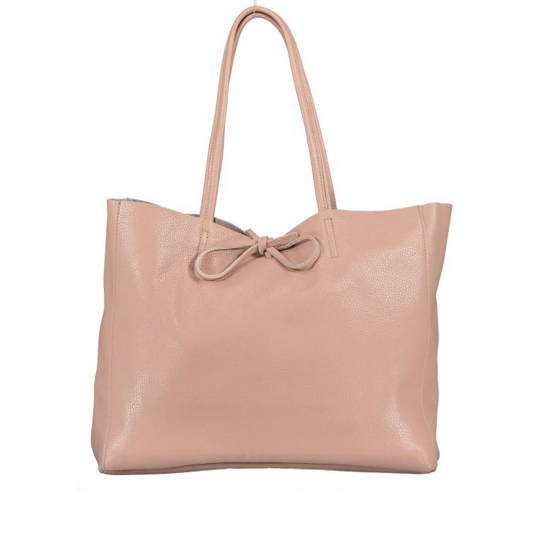Shopper Dollaro Rose, Farbe: rosa/pink, Marke: Hausfelder, EAN: 4065646003798, Abmessungen in cm: 38.0x31.5x12.0, Bild 1 von 7