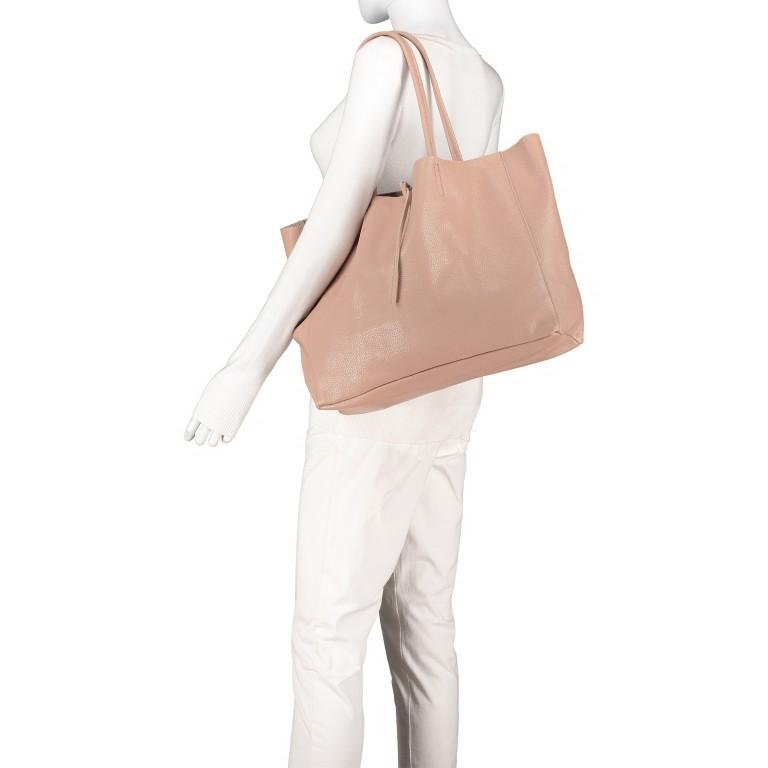 Shopper Dollaro Rose, Farbe: rosa/pink, Marke: Hausfelder, EAN: 4065646003798, Abmessungen in cm: 38.0x31.5x12.0, Bild 4 von 7