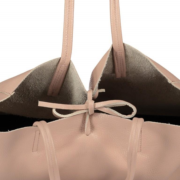 Shopper Dollaro Rose, Farbe: rosa/pink, Marke: Hausfelder, EAN: 4065646003798, Abmessungen in cm: 38.0x31.5x12.0, Bild 7 von 7