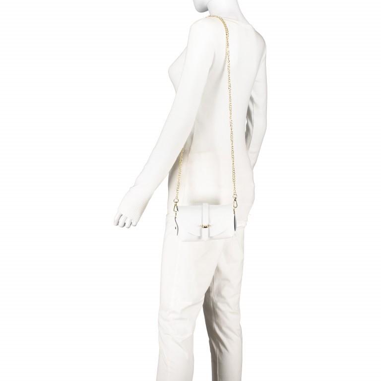 Umhängetasche Ruga Weiß, Farbe: weiß, Marke: Hausfelder, EAN: 4065646001336, Abmessungen in cm: 15.0x11.0x8.0, Bild 5 von 7