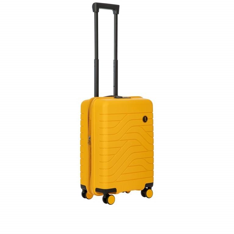 Koffer B Y by Brics Ulisse 55 cm Mango, Farbe: gelb, Marke: Brics, EAN: 8016623117546, Abmessungen in cm: 37.0x55.0x23.0, Bild 3 von 17