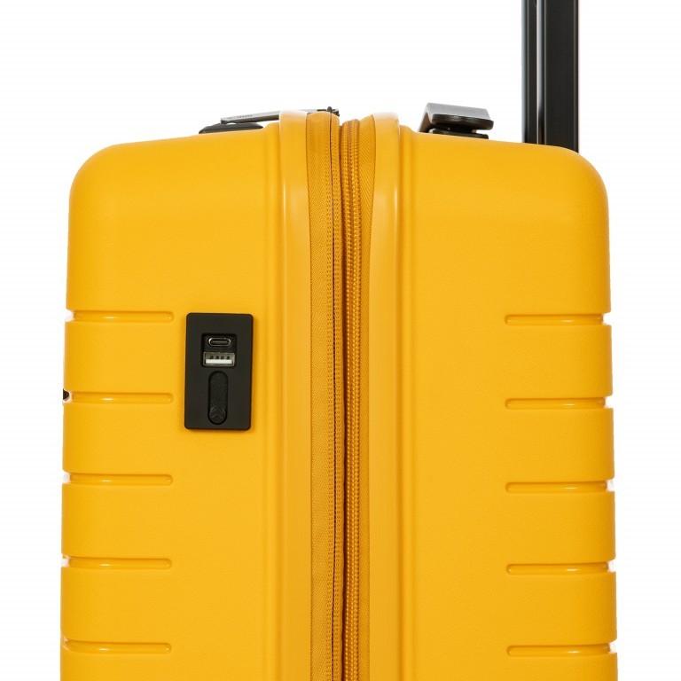 Koffer B Y by Brics Ulisse 55 cm Mango, Farbe: gelb, Marke: Brics, EAN: 8016623117546, Abmessungen in cm: 37.0x55.0x23.0, Bild 13 von 17