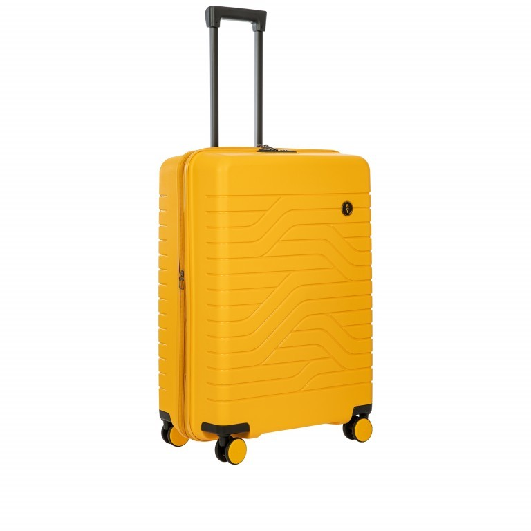 Koffer B Y by Brics Ulisse 71 cm Mango, Farbe: gelb, Marke: Brics, EAN: 8016623117638, Abmessungen in cm: 49.0x71.0x28.0, Bild 3 von 16