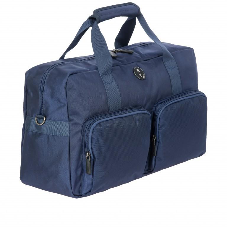 Reisetasche B Y by Brics Itaca 47cm Ocean Blue, Farbe: blau/petrol, Marke: Brics, EAN: 8016623117751, Abmessungen in cm: 47.0x27.0x19.0, Bild 2 von 6