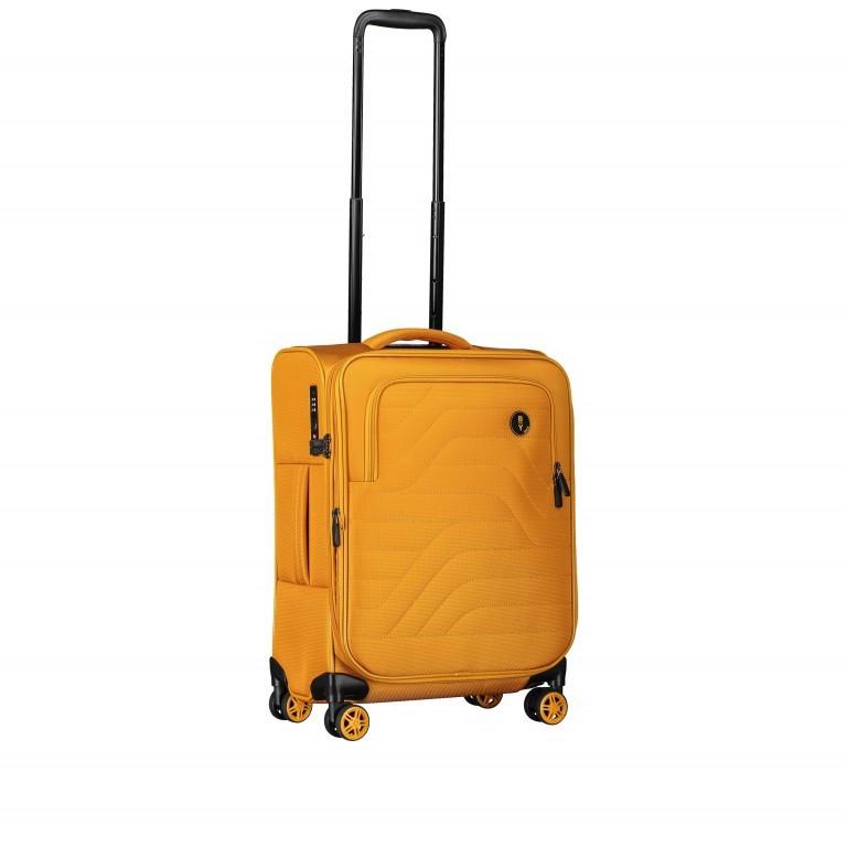 Brics B Y by Brics Itaca Trolley 4-Rollen 55cm B2Y08361.171 Mango, Farbe: gelb, Marke: Brics, EAN: 8016623117928, Abmessungen in cm: 38.0x55.0x23.0, Bild 3 von 10