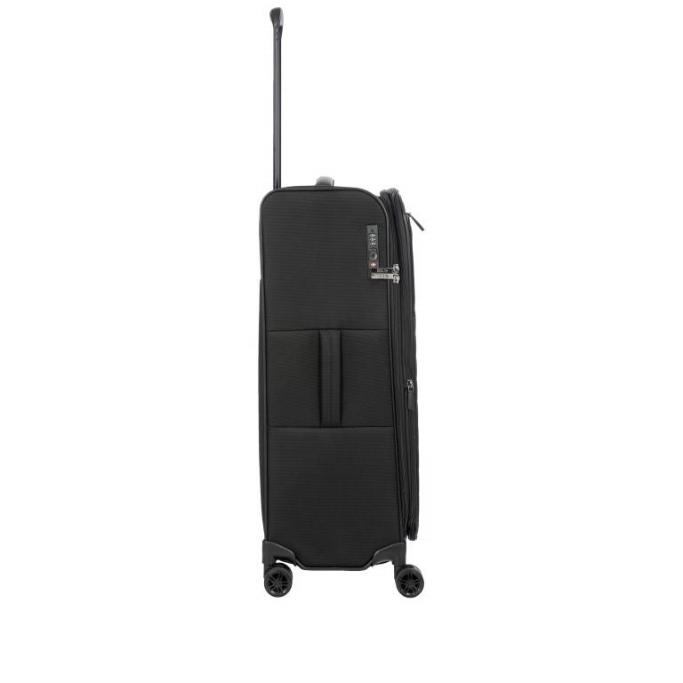 Koffer B|Y by Brics Itaca 71 cm Black, Farbe: schwarz, Marke: Brics, EAN: 8016623117942, Abmessungen in cm:  46.0x71.0x29.0, Bild 4 von 9