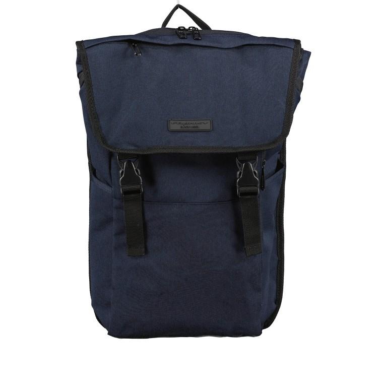 Rucksack RS46 mit Laptopfach 15 Zoll Dark Blue, Farbe: blau/petrol, Marke: Franky, EAN: 4251672707445, Abmessungen in cm: 27.0x46.0x12.0, Bild 1 von 6