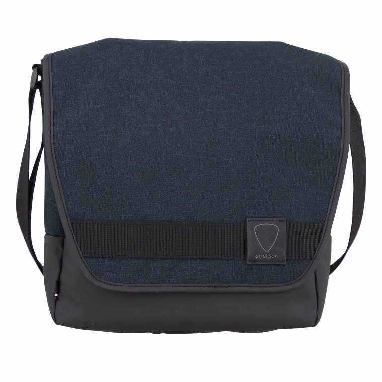 Umhängetasche Northwood Shoulderbag MVF1 Dark Blue, Farbe: blau/petrol, Marke: Strellson, EAN: 4053533770601, Abmessungen in cm: 27.0x30.0x10.0, Bild 1 von 7