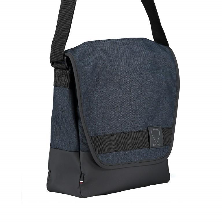 Umhängetasche Northwood Shoulderbag MVF1 Dark Blue, Farbe: blau/petrol, Marke: Strellson, EAN: 4053533770601, Abmessungen in cm: 27.0x30.0x10.0, Bild 2 von 7