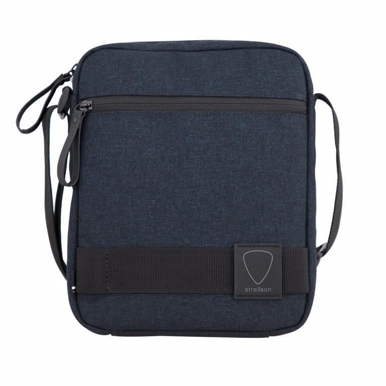 Umhängetasche Northwood Shoulderbag XSVZ Dark Blue, Farbe: blau/petrol, Marke: Strellson, EAN: 4053533808410, Abmessungen in cm: 22.0x25.0x5.0, Bild 1 von 7